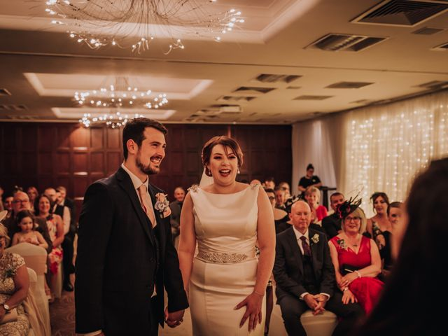 Sam and Anna's wedding in Preston, Lancashire 1