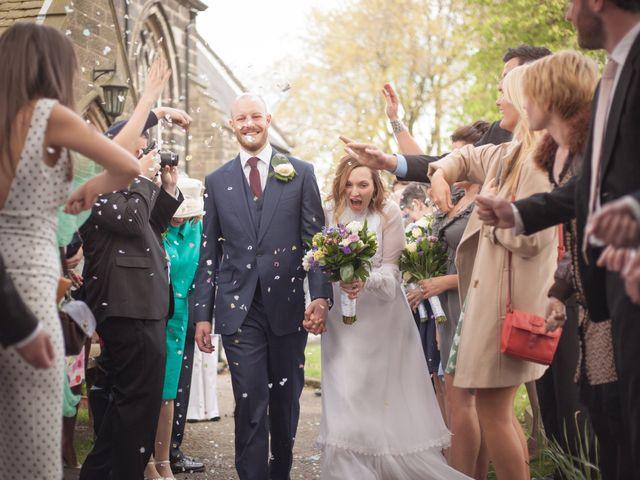 Chris and Sharon's wedding in Chorley, Cheshire 1