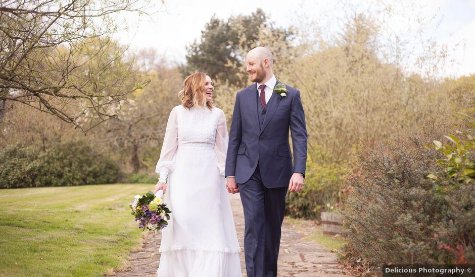 Chris and Sharon's wedding in Chorley, Cheshire