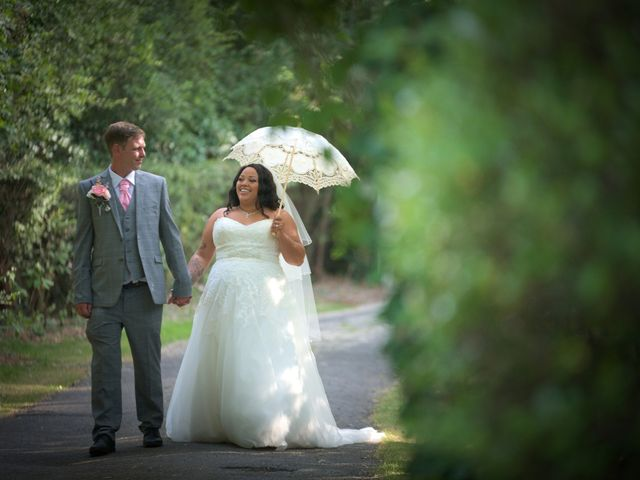 Stacey & James's wedding