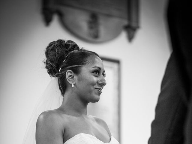 Peter and Turtin's wedding in Trowell, Nottinghamshire 6
