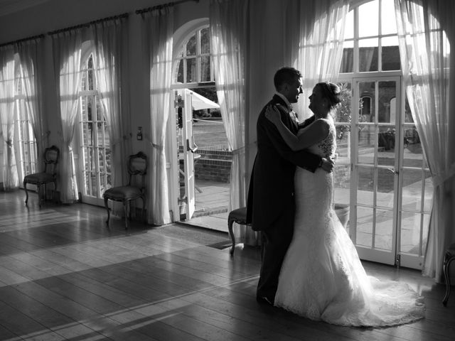 Peter and Turtin's wedding in Trowell, Nottinghamshire 1