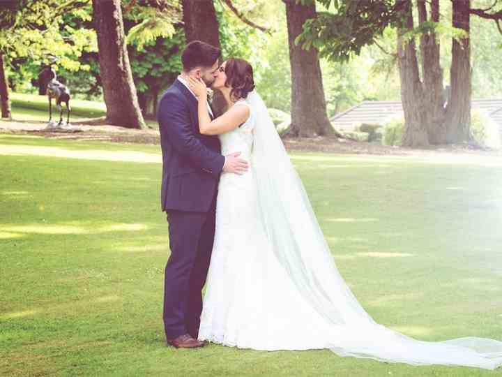 Mel & Dom's wedding