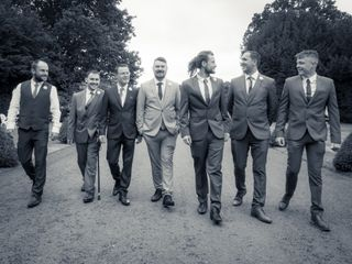 Hayley & James's wedding 1