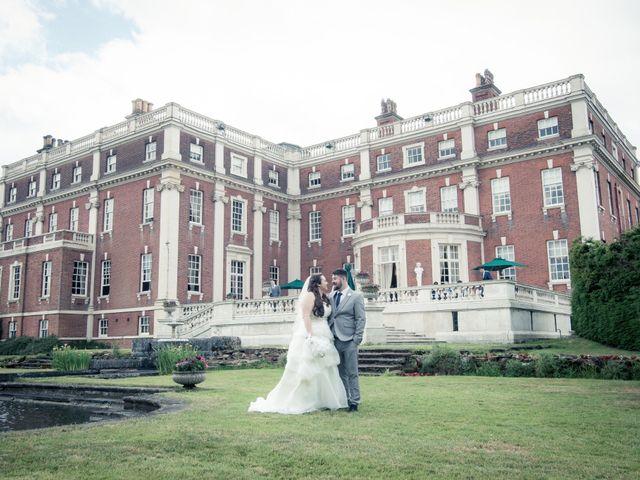 James and Hayley's wedding in Lichfield, Staffordshire 1