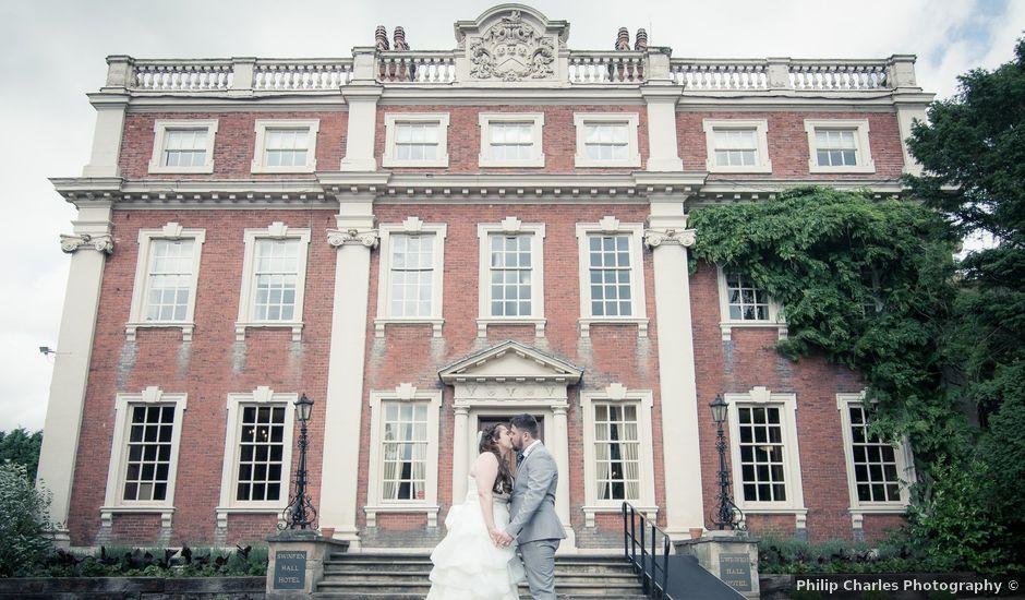 James and Hayley's wedding in Lichfield, Staffordshire