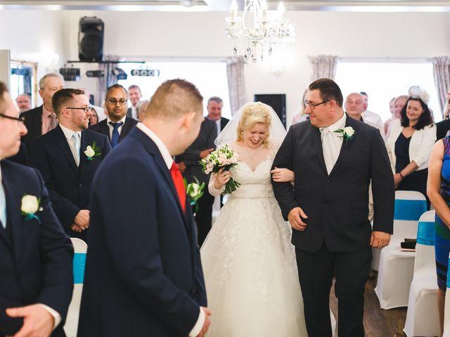 Ashley and Louise's wedding in Saham Toney, Norfolk 8