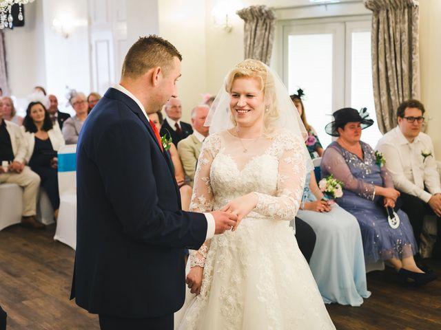 Ashley and Louise's wedding in Saham Toney, Norfolk 9