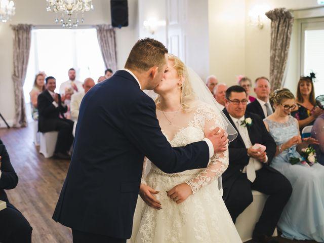 Ashley and Louise's wedding in Saham Toney, Norfolk 10