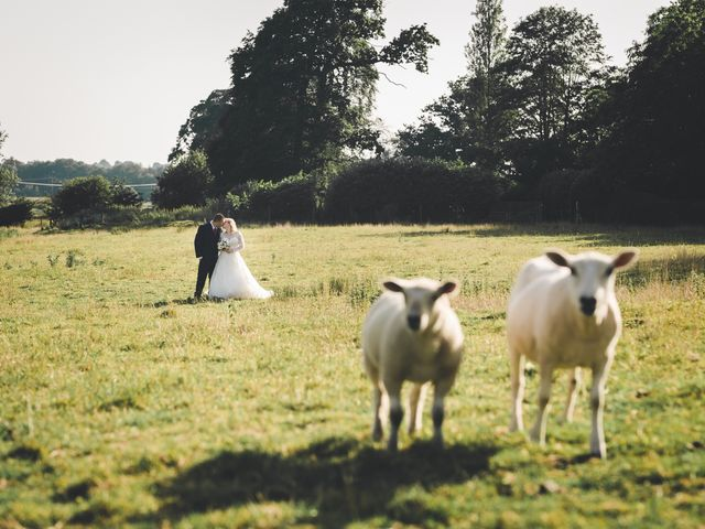 Ashley and Louise's wedding in Saham Toney, Norfolk 1
