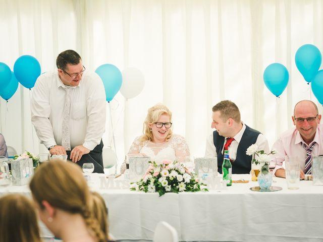 Ashley and Louise's wedding in Saham Toney, Norfolk 2