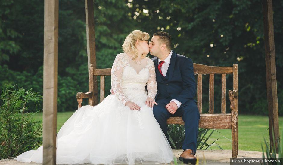 Ashley and Louise's wedding in Saham Toney, Norfolk