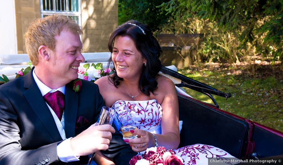 Carl and Sarah's wedding in Mansfield, Nottinghamshire