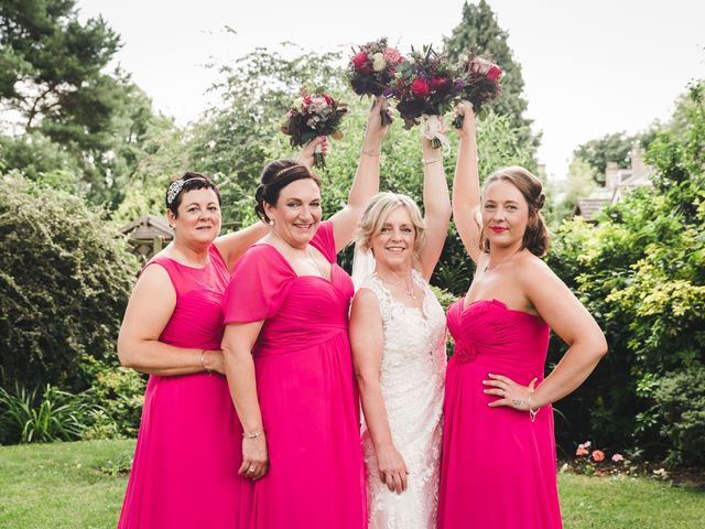 Ric and Caron's wedding in Spalding, Lincolnshire 1