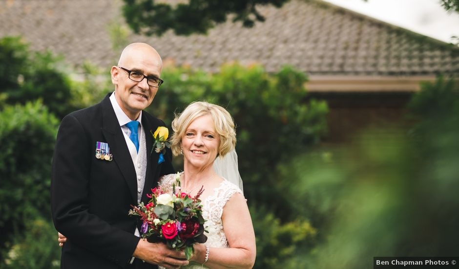 Ric and Caron's wedding in Spalding, Lincolnshire