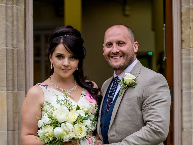 Mark and Domi's wedding in Newark, Nottinghamshire 5