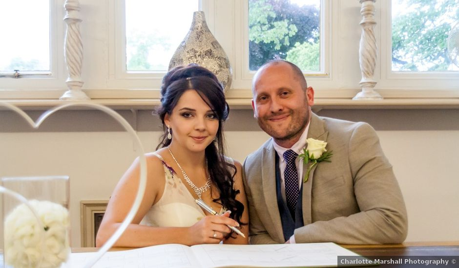 Mark and Domi's wedding in Newark, Nottinghamshire