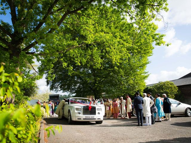 Amit and Bhavna's wedding in Nottingham, Nottinghamshire 3
