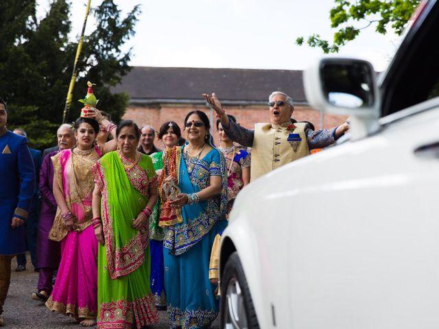 Amit and Bhavna's wedding in Nottingham, Nottinghamshire 4