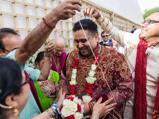 Amit and Bhavna's wedding in Nottingham, Nottinghamshire 5