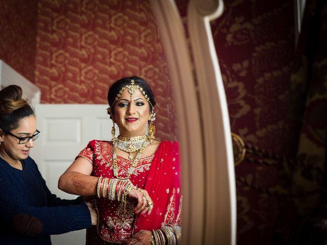 Amit and Bhavna's wedding in Nottingham, Nottinghamshire 6