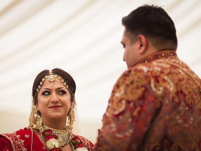 Amit and Bhavna's wedding in Nottingham, Nottinghamshire 9