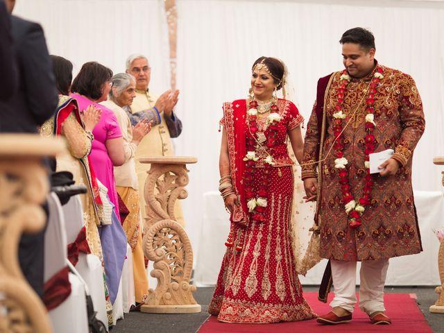 Amit and Bhavna's wedding in Nottingham, Nottinghamshire 10