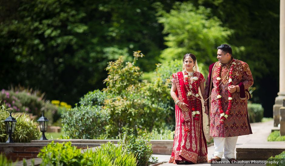 Amit and Bhavna's wedding in Nottingham, Nottinghamshire
