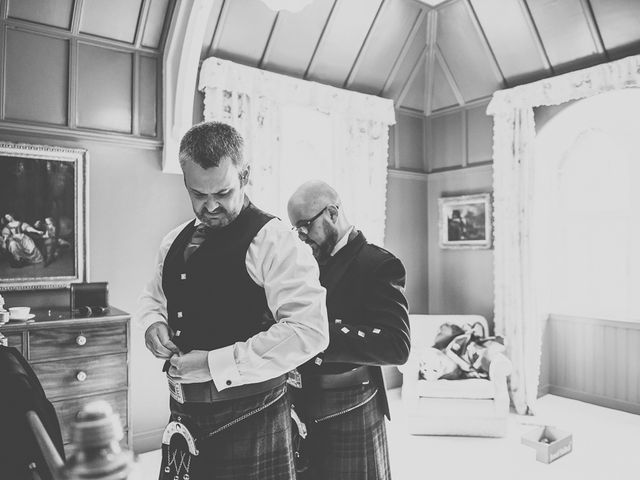 Craig and Katie's wedding in Mount Stuart, Argyll and Bute 10