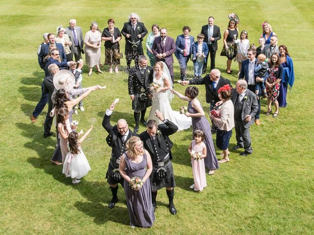 Craig and Katie's wedding in Mount Stuart, Argyll and Bute 1