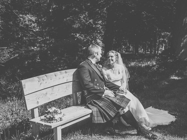 Craig and Katie's wedding in Mount Stuart, Argyll and Bute 2