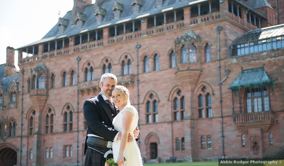 Craig and Katie's wedding in Mount Stuart, Argyll and Bute