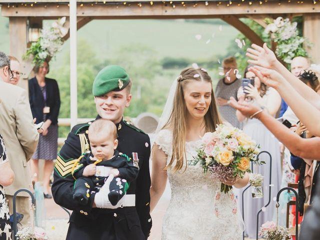 Rhian and Dan's wedding in Fenny Bentley, Derbyshire 2