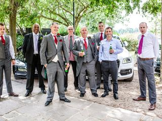 David and Marie's wedding in London, Central London 3