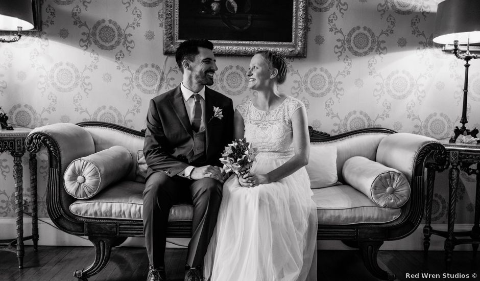 Glen and Chloe's wedding in Haughley, Suffolk