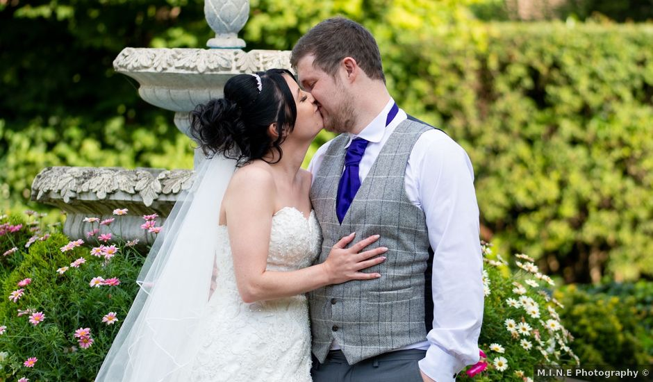 Emily and Liam's wedding in Yarm, North Yorkshire