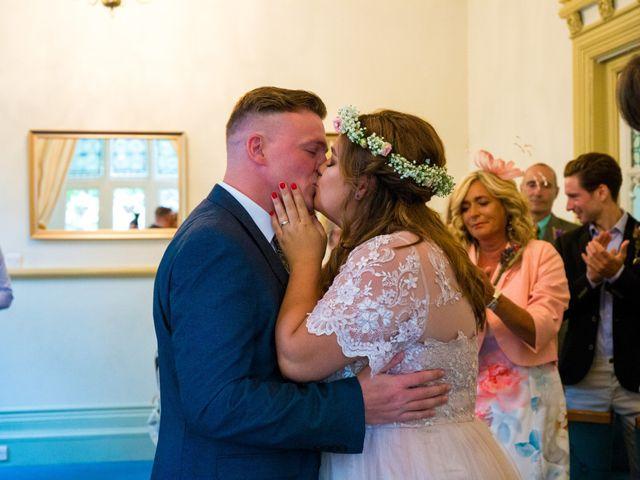 Matt and Megan's wedding in Newark, Nottinghamshire 6