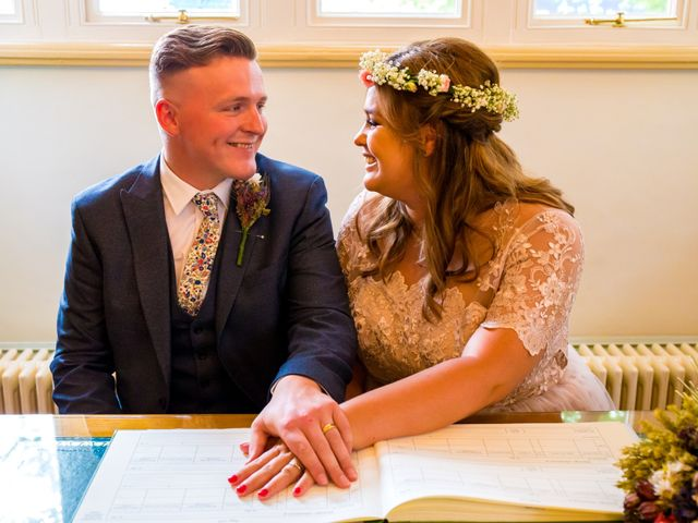 Matt and Megan's wedding in Newark, Nottinghamshire 7