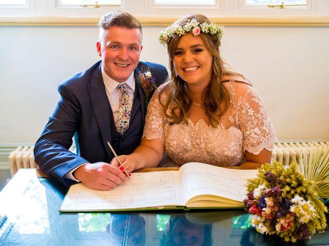 Matt and Megan's wedding in Newark, Nottinghamshire 8