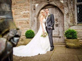 Joanne & Huw's wedding