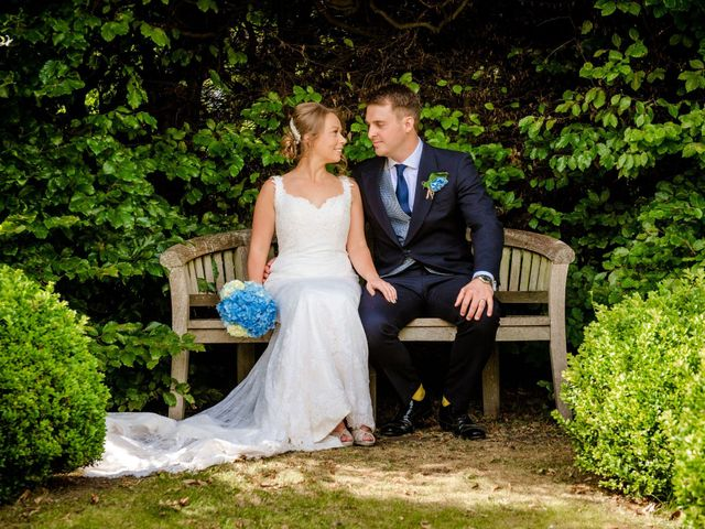Jonny and Josie's wedding in Chipping Campden, Gloucestershire 1