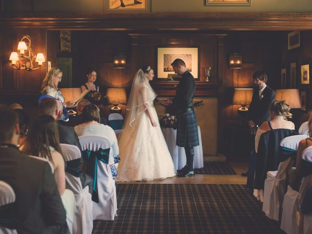 Barry and Natalie's wedding in Ayr Central, South Ayrshire 8