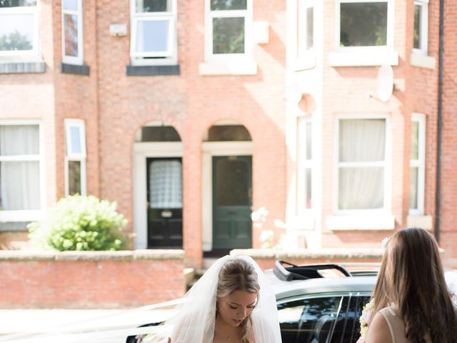 Sam and Cath's wedding in Ashton-under-Lyne, Greater Manchester 5