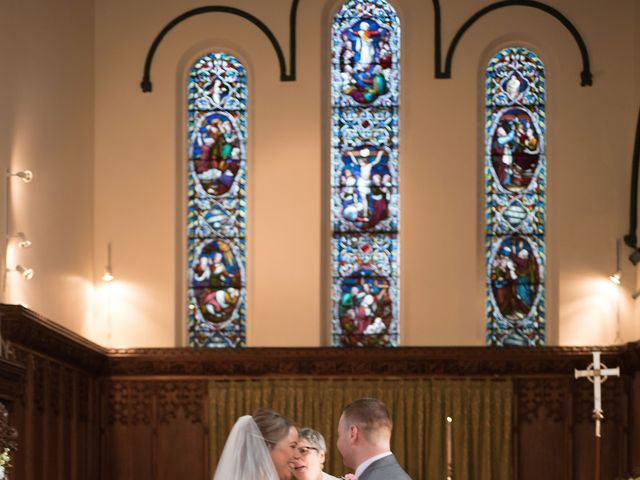 Sam and Cath's wedding in Ashton-under-Lyne, Greater Manchester 7