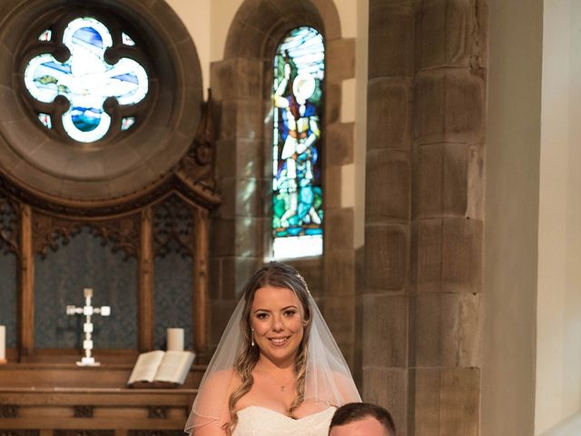 Sam and Cath's wedding in Ashton-under-Lyne, Greater Manchester 8
