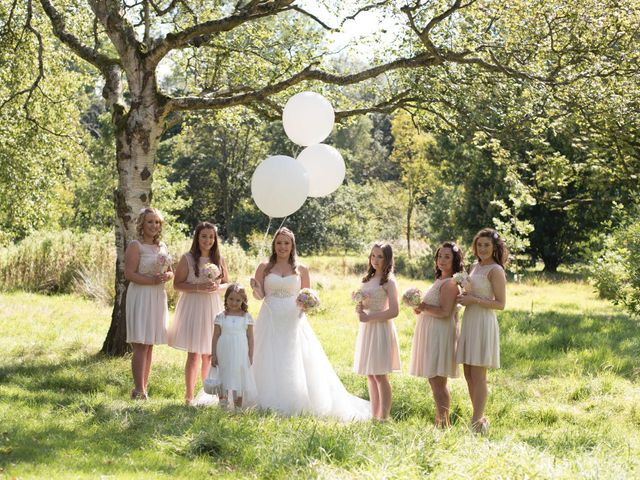 Sam and Cath's wedding in Ashton-under-Lyne, Greater Manchester 9