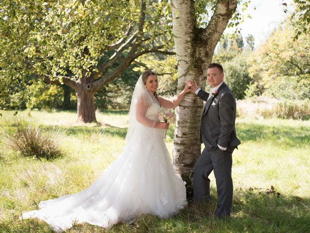 Sam and Cath's wedding in Ashton-under-Lyne, Greater Manchester 10