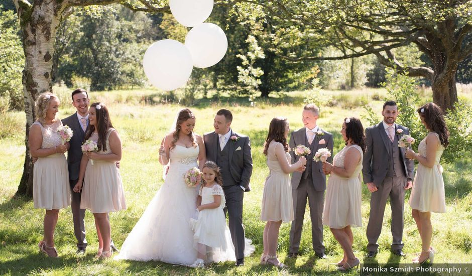 Sam and Cath's wedding in Ashton-under-Lyne, Greater Manchester