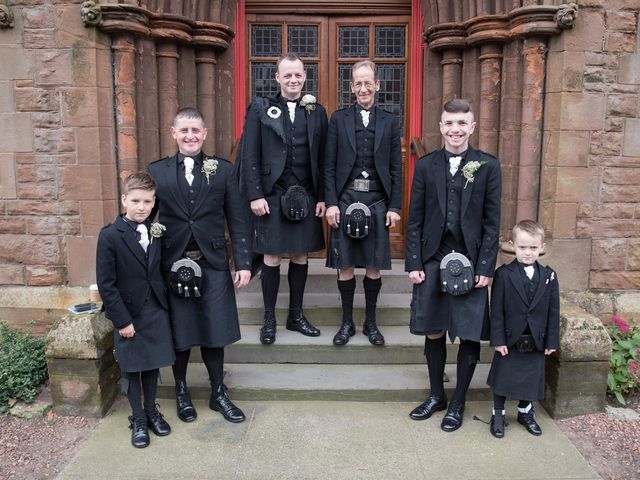 Austin and Lianne's wedding in Troon, South Ayrshire 2