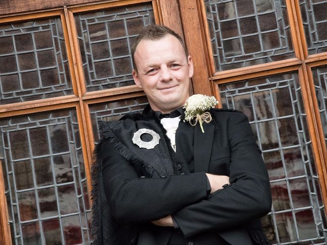 Austin and Lianne's wedding in Troon, South Ayrshire 3
